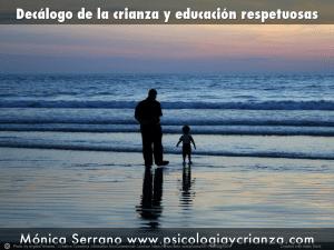 Decýlogo de la crianza y educaciýn respetuosas