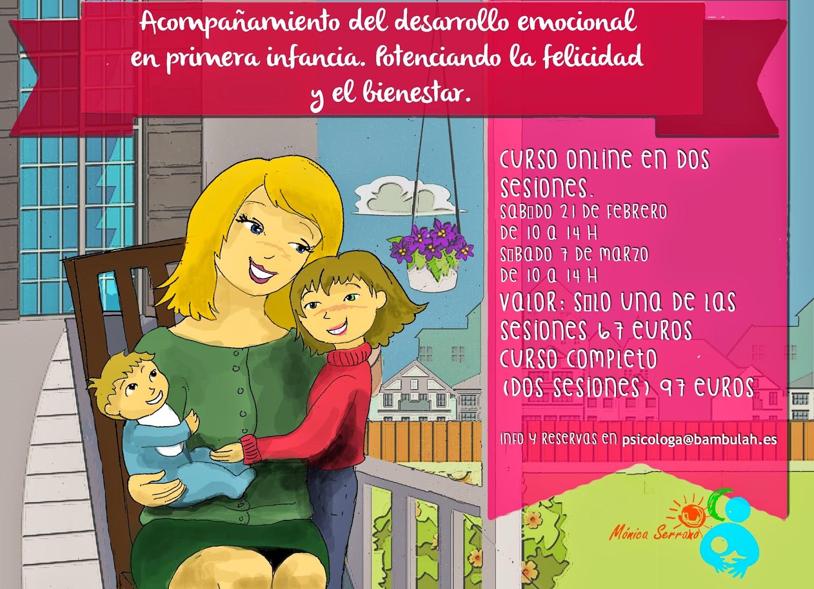 Conexión emocional madre-bebé – Mónica Serrano