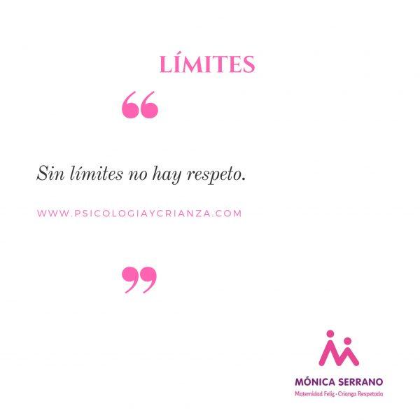 Sin límites no hay respeto